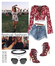 """🎊 FESTIVAL TREND 🎊"" by jiwooson on Polyvore featuring WithChic and Ivanka Trump"
