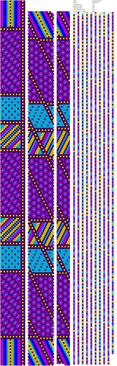 16 around bead crochet rope pattern Bead Crochet Patterns, Peyote Patterns, Beading Patterns, Stitch Patterns, Spiral Crochet, Bead Crochet Rope, Beaded Crochet, Crochet Beaded Bracelets, Beaded Bracelet Patterns