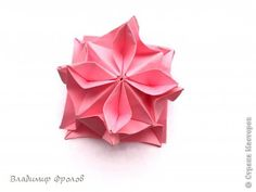 181 best origami kusudama images on pinterest origami ball wind flower 1 wind flower kusudama designer vladimir frolov units 12 12 units mightylinksfo