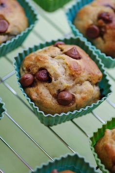 Light Banana Chocolate Chip Muffins - 3 to 4 pts depending on how many chocolate chips you use.