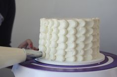 How to Frost a Petal Cake | Relish.com
