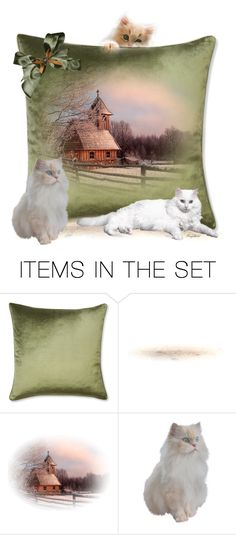 """January Pillow😀"" by ragnh-mjos ❤ liked on Polyvore featuring art"