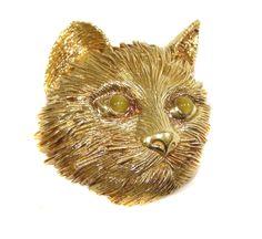 Tiffany Cat brooch, c. 1960
