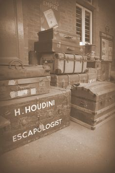 The Bluebell Railway Line, Harry Houdini's luggage