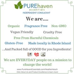 All the stuff I love about Pure Haven Essentials <3 #PureHavenMomma #NonToxicGoodness #ChangeTheWorld