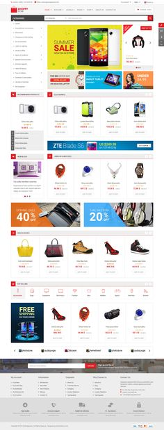 SJ Market - Upcoming Responsive eCommerce Joomla 3.x Template with ...