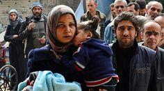 Esta foto como otras tantas muestra la infancia perdida de todos los niños sirios por culpa de la guerra