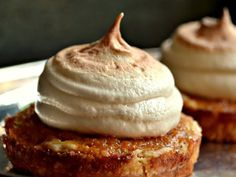 Sweet Potato Tartlets with Maple Marshmallow Topping