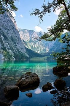 Lake Obersee, Berchtesgaden National Park - Germany