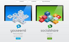 Refonte de la landing en prévision de l'ouverture SocialShare...