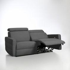 Canapé de relaxation électrique microfibre, Hyriel La Redoute Interieurs | La Redoute Mobile