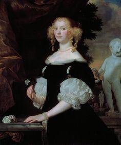 Abraham van den Tempel (c.1622 – 1672) Portrait of a woman