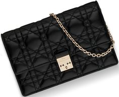 Miss Dior Wallet On Chain Pouch Confused? We know what you're thinking. 'Isn't this the Miss Dior Promenade Pouch with Chain?'. No, it's not, but there are a lot of similarities because both bags a…