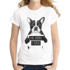 This+dog+printed+vintage+tee+was+designed+exclusively+for+pet+lovers!+Once+you+put+this+cool+shirt+on,+you+won't+want+to+take+it+off.+    -+Composed+of++Spandex+and+Polyester  -+Sizes+available+are+from+S+to+XXL.  -+Knitted+,+O-neck+,+T-shirt.