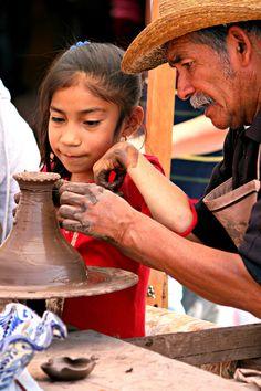 Ceramica-Dolores Hidalgo, Mexico