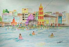 Nasik Taj Mahal, Painting, Travel, Art, Art Background, Viajes, Painting Art, Paintings, Kunst