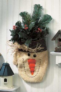 Marvelous Mitten Snowman Decoration