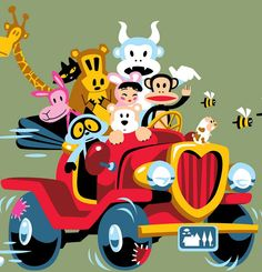paul frank t shirts | Paul Frank: Julius and Friends