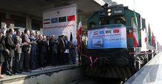 osCurve   Contactos : Llega a Irán el primer tren de China de la Ruta de...