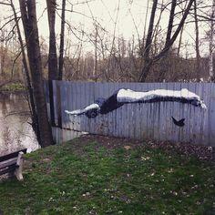 Streetart na plzenske plovarne #river #streetart #jump #swimmer #graffiti #igerscz #pilsen #plzen