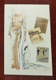Sandra Vanderpool Rita Hayworth Vintage Hollywood Paper Doll Uncut Collectible | eBay