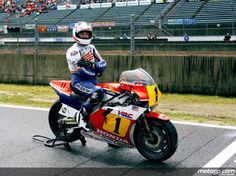 MotoGP Legend Freddie Spencer in Motegi 2009