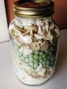 52 Jar Method for making meals out of freeze dried foods.  Love this Chef!