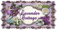 Lavender Cottage... cute sign