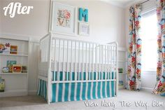 "Life as a Thrifter: Wednesday Redo: Little ""M's"" Precious Pinwheel Nursery"