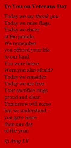 The Poem Farm: To You on Veterans Day - Poem Ludwig Vanderwater Veterans Memorial, Military Veterans, Memorial Day, Military Songs, Honor Veterans, Military Cards, Veterans Day Thank You, Veterans Day Quotes, Veterans Day Speeches