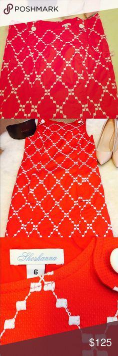 💖NWT SHOSHANNA MINI💖 Stunning😍 Shoshanna Printed dress! NWT Never Worn. Cute Button Detail at each shoulder, Two front pockets and hidden back zipper. Shoshanna Dresses Mini