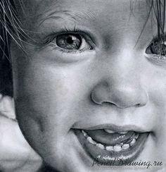 Радостный ребёнок художника Andy Buck