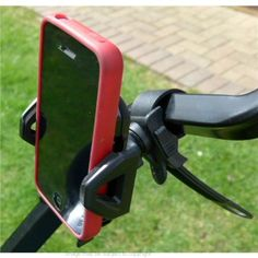 """Locking Strap Golf Trolley / Cart Mount for Apple iPhone 5, 5S, 5C. Locking Strap Golf Mount for the Apple iPhone 5, 5S, 5C smartphone. So versatile, ideal for awkward cart or trolley framework & irregular sized handlebars. Supplied with an adjustable mobile phone holder which allows you to keep a case or skin on the phone. Suitable for square, oval & round handlebars, frames, poles or bars. Fits minimum diameter of 21mm (0.83"""") & maximum diameter 40mm (1.58""""). This high quality universal..."""