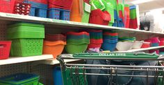 If you're looking to do some Spring cleaning and organizing, check out these awesome Dollar Tree items – for just $1 each!