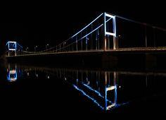 Louhunsalmi Bridge | City of Jyväskylä Bridge, Festival Lights, City, Bridges, Cities, Attic, Bro