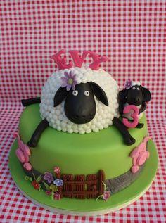 Shaun The Sheep Birthdy Cake