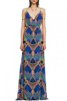 Crossover Slip Gown