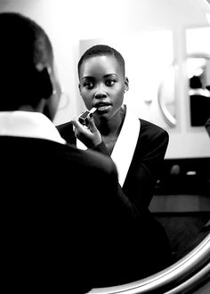 Latest obsession: Lupita Nyong'o. Flawless.