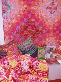 Kaffe Fassett quilt 101_0105 | Flickr - Photo Sharing!