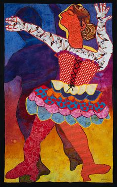 Dance for Joy by Jean Herman.  Frontrange Art Quilters.