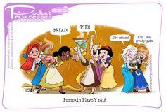 Pocket Princesses 223: Pumpkin Playoffs Please reblog, don't repost, edit or remove captions Facebook - Instagram
