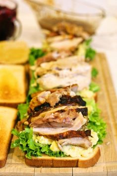 How about Japanese Mayo with Thanksgiving Leftovers?
