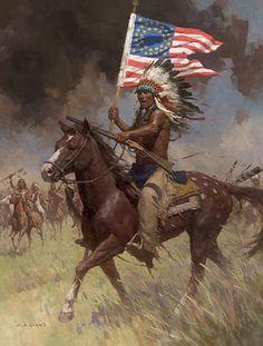 Lakota Warriors, Little Big Horn, June 25, 1876.