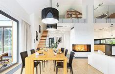 Projekt domu Parterowy 118,23 m2 - koszt budowy 184 tys. zł - EXTRADOM Deck Design, House Design, Design Case, Home Fashion, Planer, Townhouse, House Plans, Sweet Home, Layout