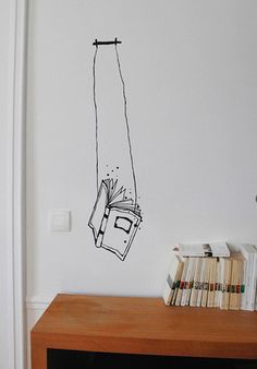 book swing. Get the pens out, I'm drawin on my wall ;-{ )