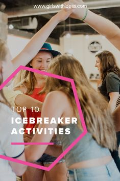 Looking for the perfect icebreaker for your group? Look no further! Here's our top 10 favorite games to break the ice! Icebreaker Activities, Activities For Girls, Icebreakers, Girl Scout Troop, Girl Scouts, Team Builders, 13 Year Olds, Life Skills, Tween