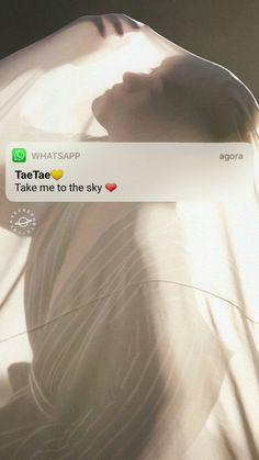 El siempre tan lindo Todavía me pregunto ¿Por que eres tan perfecto, y como lograste llegar a mi corazón? ❤❤ tae te amo