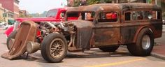 Hot Rod Hearse | ... Rod, Rust Rods & Hot Rods, Photos, Builds, Parts, Tech, Talk & Advice