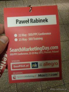Relacja na blogu z Search Marketing Day 2012
