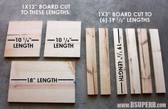 DIY Wood Crate - B Superb. - Beautiful DIY Wood Crate – step by step tutorial - Small Wooden Crates, Wood Crates, Wood Boxes, Wooden Diy, Beginner Woodworking Projects, Learn Woodworking, Woodworking Plans, Popular Woodworking, Woodworking Machinery